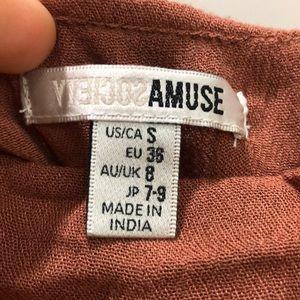 Amuse Society Tops - Amuse Hayes woven size s